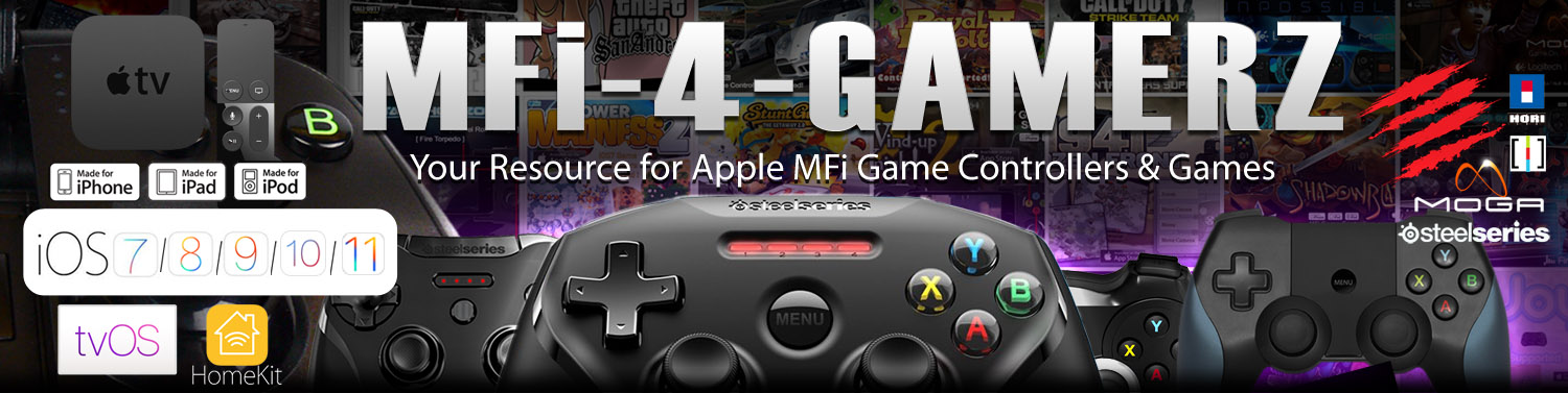 MFi4Gamerz – Apple Game Controller Supported Games